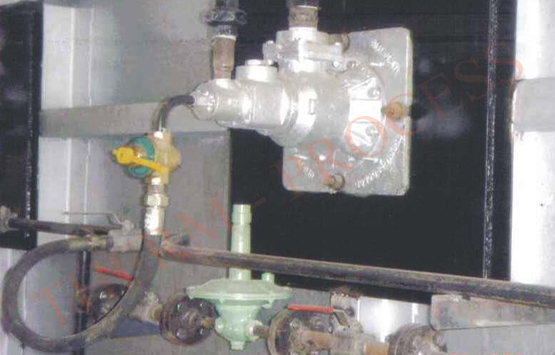 Industrial Burner Pusher Furnace Top Fired Pusher Type